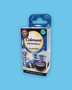 Colorant alimentaire en poudre bleu