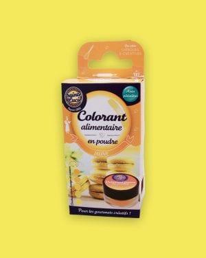 Colorant alimentaire en poudre jaune