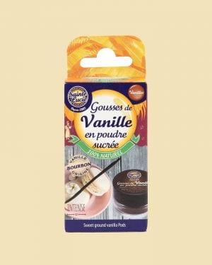 Gousses de Vanille en poudre sucrée